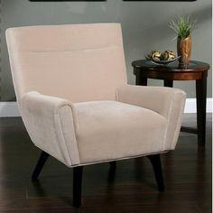 Abbyson Living Marquis Suede Chair