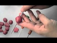 Polymer Clay Bead Shapes - Part 2 ~ Polymer Clay Tutorials Polymer Clay Tools, Polymer Clay Canes, Fimo Clay, Polymer Clay Projects, Polymer Clay Creations, Polymer Clay Beads, Video Fimo, Biscuit, Crea Fimo