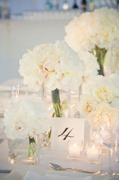 Peonies, Wedding Flowers, Bridal Bouquets || Colin Cowie Weddings