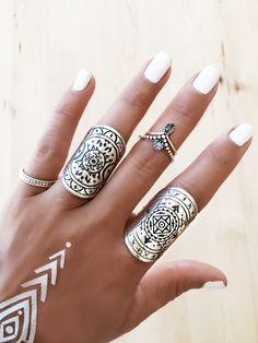 GypsyLovinLight - TFEL Mandala Rings