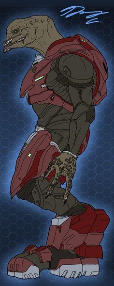 Halo+4+Sangheili+Soldier+WIP+by+Guyver89.deviantart.com+on+@DeviantArt