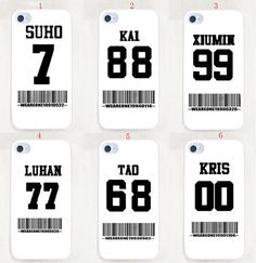 Kpop EXO logo Overdose cell phone case Iphone case Samsung S4 case merchandise accessories fanmade style on Etsy, $9.90