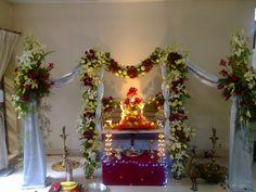 Ganpati arrangements2