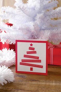Homemade Christmas Card Idea