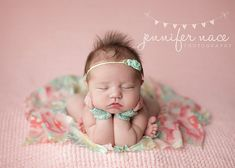 "Newborn Prop Gloves and Headband Set - ""Caroline"", Newborn Photo Prop"