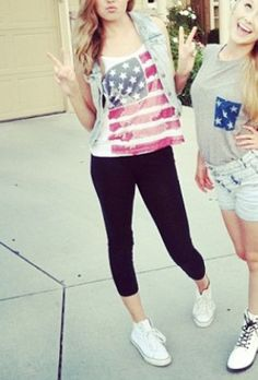 Perf for my best friend and I on July 4th