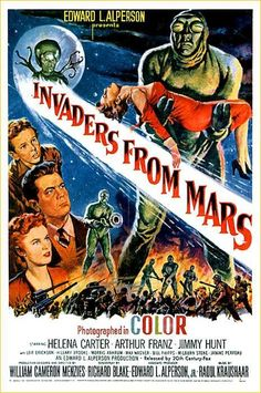 Cinelodeon.com: Invasores de Marte. William Cameron Menzies.