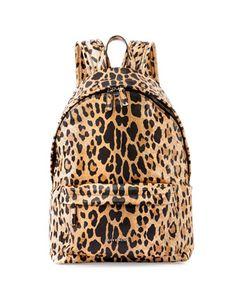Antigona Nylon Backpack, Leopard Print by Givenchy at Neiman Marcus.