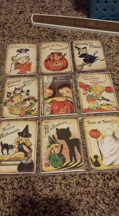 Vintage Halloween Pocket Letter