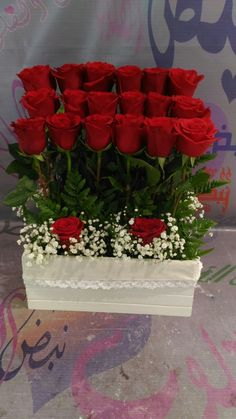 30 Pretty Roses Arrangements Valentines For Your Beloved People Valentine Flower Arrangements, Funeral Floral Arrangements, Rose Flower Arrangements, Creative Flower Arrangements, Modern Floral Arrangements, Flower Vases, Orchid Flowers, Pretty Roses, Beautiful Roses