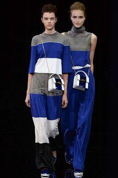 Emporio Armani - Stripes - Blue is the colour
