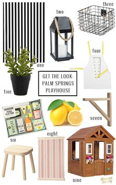Palm Springs Inspired Playhouse DIY | Build Your Own Playhouse