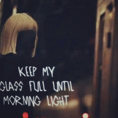 Artist: Sia , Song: Chandelier   My favorite Music quotes ...