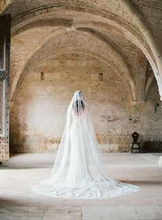 Gorgeous Wedding Veils from Sibo Designs in Amsterdam - Photography: Brumley & Wells