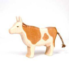 Cow Brown Standing (Ostheimer)
