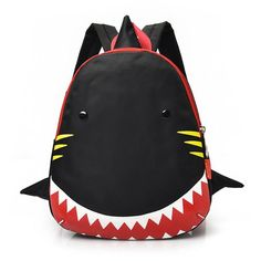 a7a4f3ffe Kids / Toddler Shark Daypack. Toddler BackpackDiy BackpackSmall BackpackFashion  BackpackKids BackpacksAnimal BackpacksSchool ...