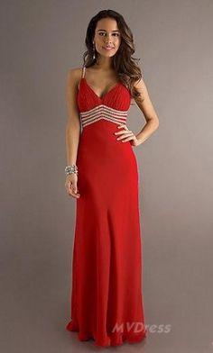 prom dress # red dress # long dress #