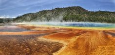 Grand Prismatic Spring  Yellowstone National Parc