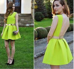 vestido verde pastel - Buscar con Google