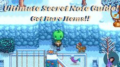 Stardew Valley Secret Notes| Find rare items and more! Stardew Valley Tips, Secret Notes, Sims Games, Simulation Games, Games To Play, Corner, Videos, Youtube, Games
