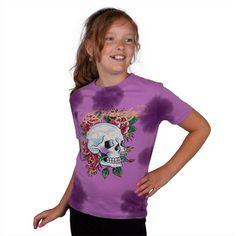 Ed Hardy - Skull Rose Girls Juvy T-Shirt