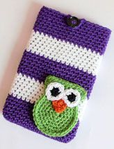"""Striped Owl 7"""" Tablet Cover"""