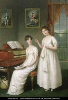 Portrait of the Irwin Sisters - Robert Home