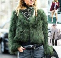Please check your size according to the following size chart. Item Name: Women Faux Fur Jackets Mat