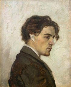 "'You must trust and believe in people or life becomes impossible."" Anton Chehov (painting by Nikolai Chekhov, his brother)."
