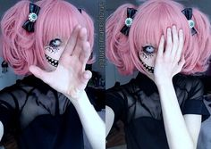 anzujaamu!!! her creepy cute makeup is the best                              …