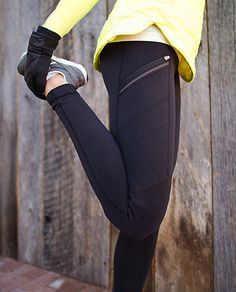 Winter workout outfit