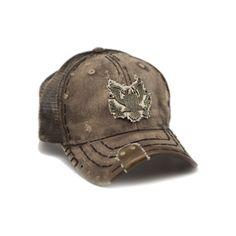 Eagle Brown Mono Hat