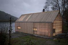 Koreo Arkitekter, Kolab Arkitekter · Naust V. Vikebygd, Norway · Divisare