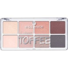all about … eyeshadow palettes 06 toffee - essence cosmetics