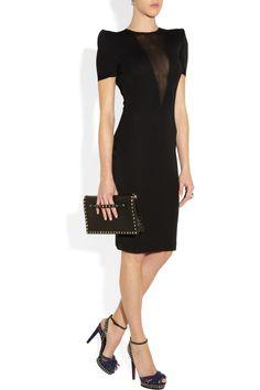 Lanvin|Crystal-embellished suede sandals|NET-A-PORTER.COM