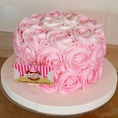 Rosetones de frosting