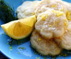 Lemonades: galletintas de lima/ limón y miel.