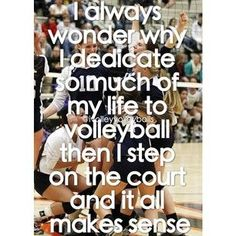 Volleyball Quotes and Sayings | f966a66a5318776449150a260020a77e