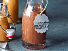 Geschenke aus der Küche - alles selbst gemacht! - schoko-espresso-sosse  Rezept