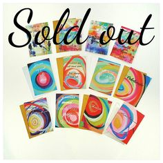I am very happy and sad to say that all of these card packs have sold out!! Dont miss out on the next round by signing up to stay connected on my email list. (Link in my profile)  NEW card designs will be coming soon!  Thank you to everyone that bought these lovelies. I am over joyed to know you will be spreading some love around!  #