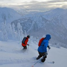 Heli-Skiing BC Canada