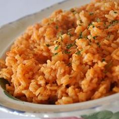 Easy Spanish Rice--seems to be the favorite according to reviews