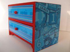 Thomas The Train Trinket Box by StrictlyCute on Etsy