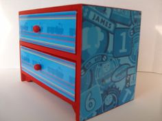 Thomas The Train Trinket Box by StrictlyCute on Etsy