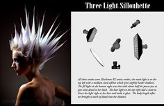 Three Light Sillouhette