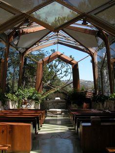 The Wayfarers Chapel — Verdes, California unique wedding venue ideas