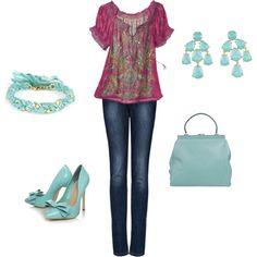 <3 the Tiffany Blue accessories! :)LOVE