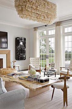 Julie Hillman design-- rustic meets modern