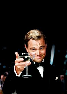 I just saw The Great Gatsby, and it's honestly the only movie I've cried in the theater over. Leo's just THAT brilliant.