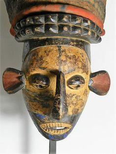 masque yaka congo afrique RDC art premier